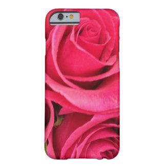 PINK FLORAL ROSE iPhone 6 case