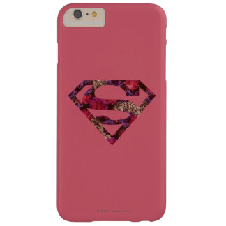 Pink Floral S-Shield Barely There iPhone 6 Plus Case