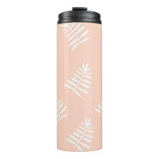 Pink  Floral Thermal Tumbler