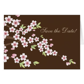 Pink Floral Wedding Chocolate, Save the Date Cards