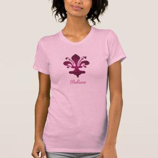 Pink Florence Fleur de Lis T-Shirt