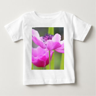 Pink flower baby T-Shirt