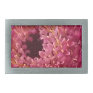 Pink Flower Belt Buckle
