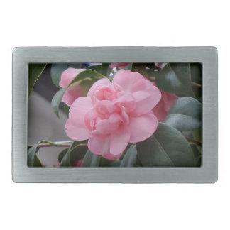 Pink Flower Belt Buckle