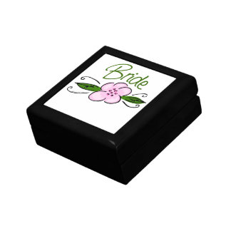 Pink Flower Bride Gift Box