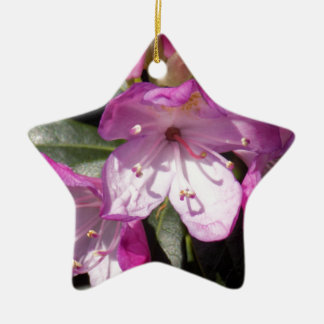 Pink Flower Christmas Ornament