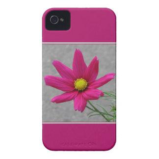 Pink Flower custom Blackberry case