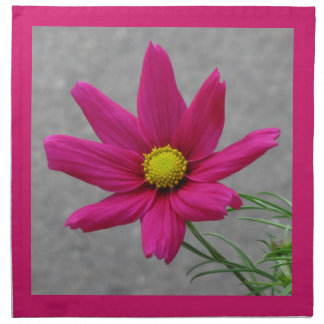 Pink Flower custom cloth napkins