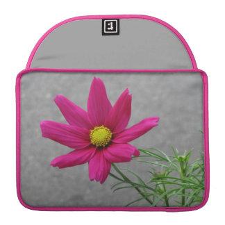 Pink Flower custom MacBook sleeve