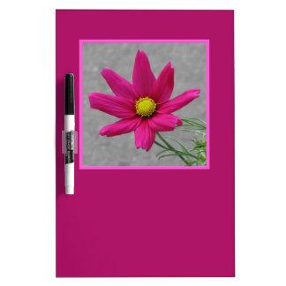 Pink Flower custom message board