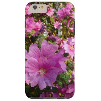 Pink Flower Garden Tree Tough iPhone 6 Plus Case