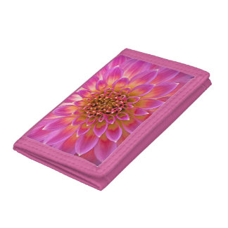 Pink Flower Girl wallet