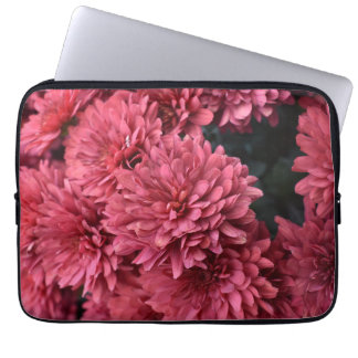 pink flower laptop sleeve