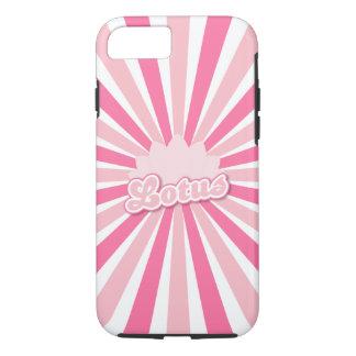 Pink Flower Lotus iPhone 7 Case