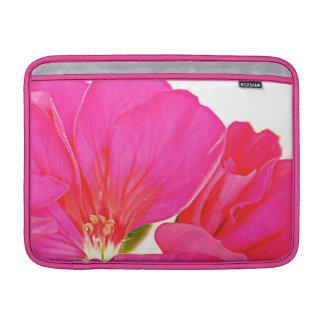 Pink Flower MacBook Air Sleeve