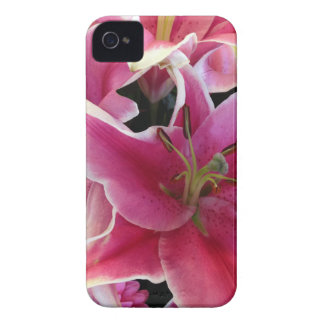 Pink flower magic iPhone 4 covers