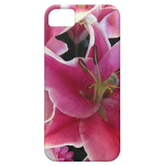 Pink flower magic iPhone 5 case