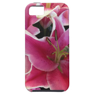 Pink flower magic iPhone 5 cover