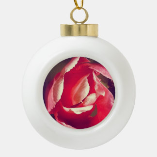 Pink Flower Ornament