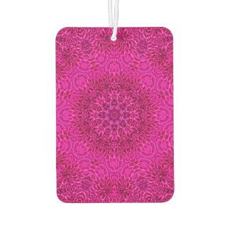 Pink Flower Pattern  Air Fresheners, 4 styles Car Air Freshener