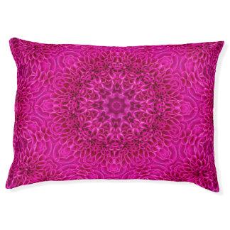 Pink Flower Pattern  Dog Beds, 2 sizes Pet Bed