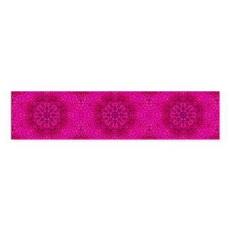 Pink Flower Pattern   Kaleidoscope  Napkin Bands