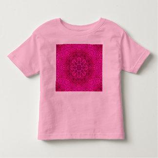 Pink Flower Pattern Kids Shirts, many styles Toddler T-Shirt