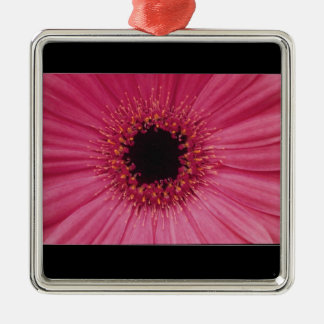 Pink flower pendant christmas ornament