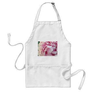 pink flower petals adult apron