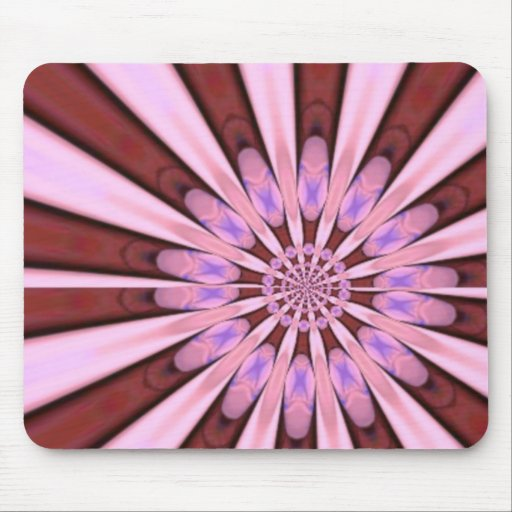 Pink Flower Petals from Sandals Art Mousepads