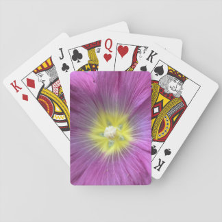 Pink Flower Photo Classic Playing Cards