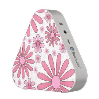 Pink Flower Power Speaker