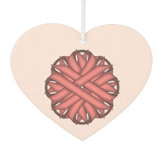 Pink Flower Ribbon Template