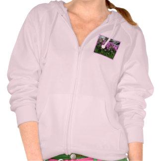 Pink Flower Rock Garden Sweatshirt