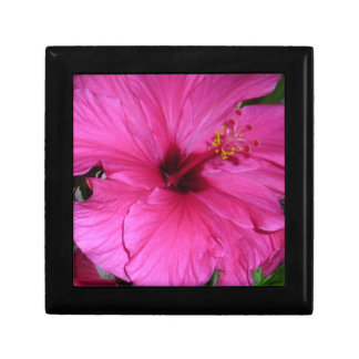 Pink Flower Small Square Gift Box
