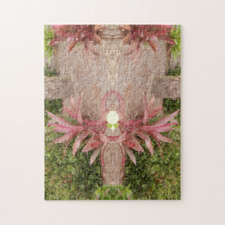 PINK FLOWER SUPRISE JIGSAW PUZZLE