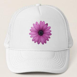 pink Flower Trucker Hat