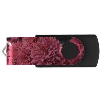 pink flower usb drive