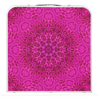"Pink Flower Vintage Kaleidoscope 48""  Pong Table"