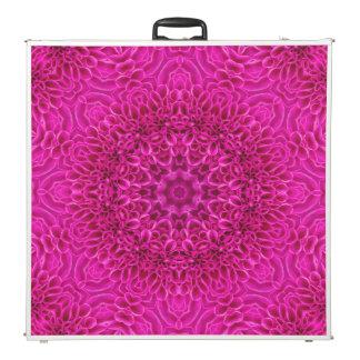 "Pink Flower Vintage Kaleidoscope 96""  Pong Table"