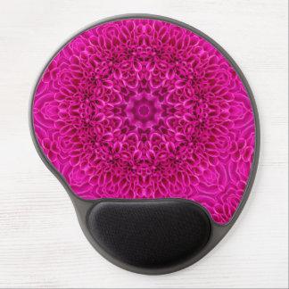 Pink Flower Vintage Kaleidoscope    Gel Mousepad Gel Mouse Mat