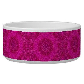 Pink Flower Vintage    Kaleidoscope   Pet Dish