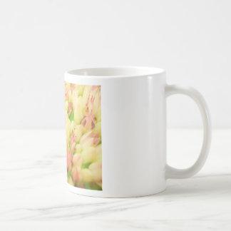 Pink Flowerbed Mug