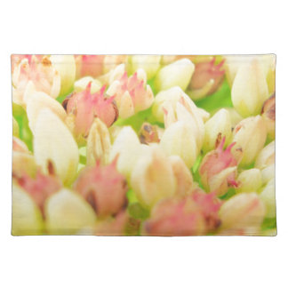 Pink Flowerbed Placemat