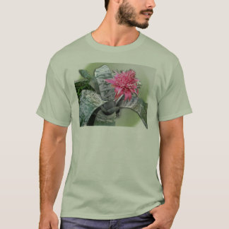 Pink Flowered Bromeliad T-Shirt