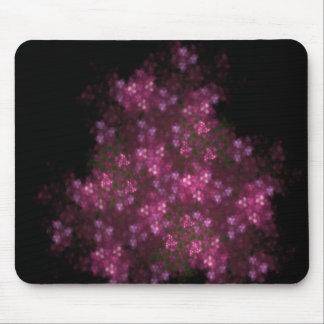 Pink Flowering Bush mousepad