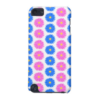Pink Flowers and Blue Flowers. Pattern. iPod Touch (5th Generation) Case