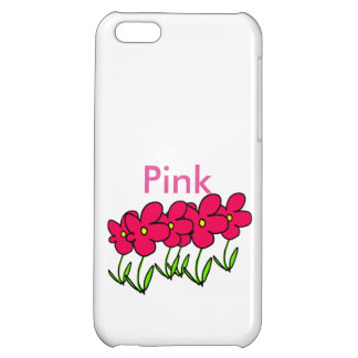 Pink flowers artwork phone cases case for iPhone 5C