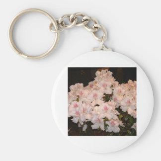 Pink Flowers, Azalias Key Chains