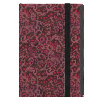 Pink Flowers, Blush Curves abstract floral pattern iPad Mini Case